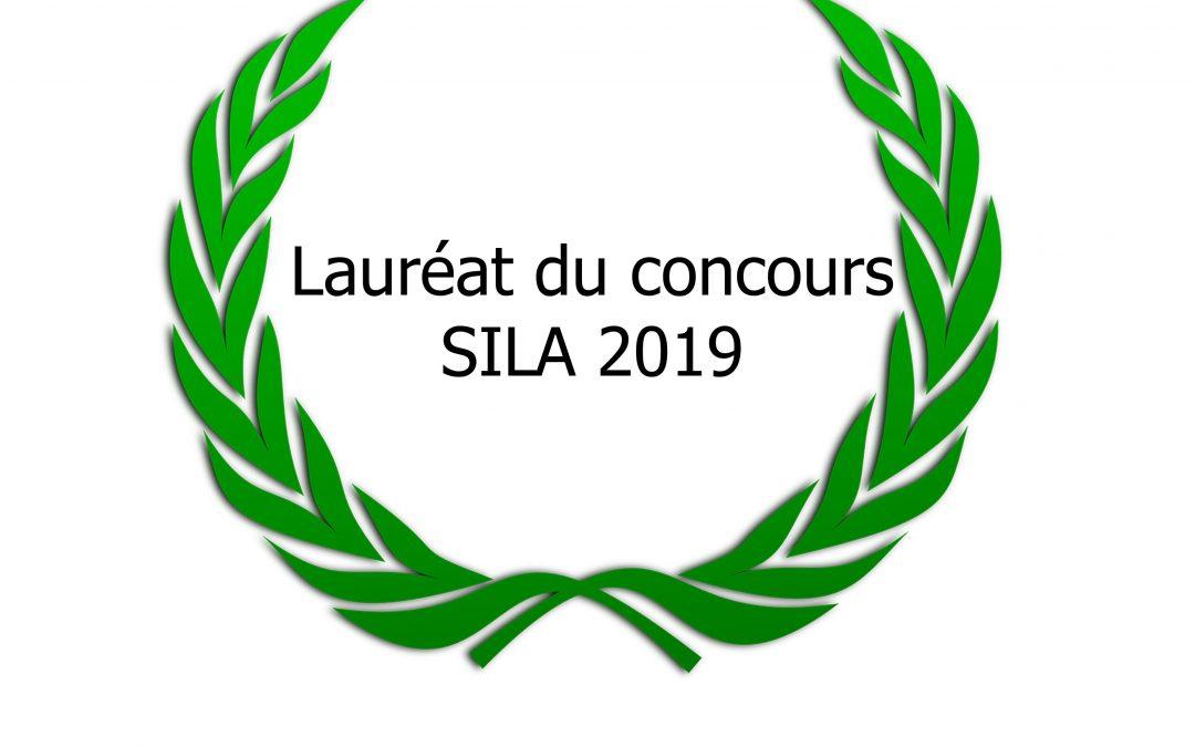 Lauréat du concours de la « Meilleure affiche » SILA 2019